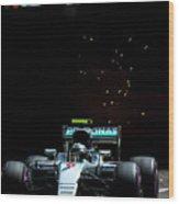Nico Rosberg Wood Print