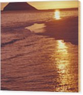 Oahu, Lanikai Beach Wood Print