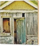 One Country Farmhouse Wood Print