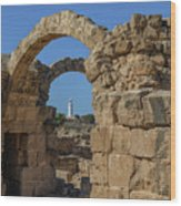 Paphos Archaeological Park - Cyprus Wood Print