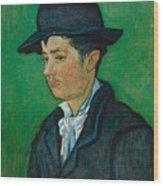 Portrait Of Armand Roulin Wood Print