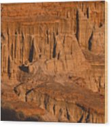 Red Cliffs  Wood Print