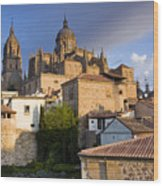 Salamanca Wood Print