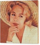 Sandra Dee, Vintage Actress Wood Print