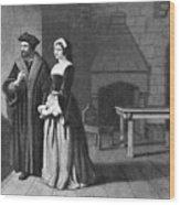 Sir Thomas More (1478-1535) Wood Print