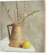 Spring Still Life Wood Print