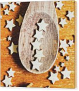 5 Star Catering And Restaurant Award Wood Print