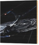 Star Trek Wood Print