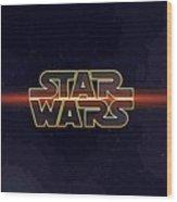 Star Wars A Poster Wood Print