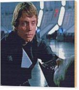 Star Wars Characters Poster Wood Print