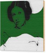 Star Wars Princess Leia Collection Wood Print