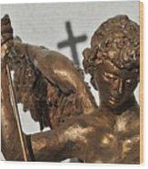 Statue Wood Print