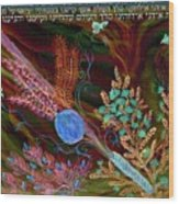 Sukkot- Prayer In The Sukkah Wood Print