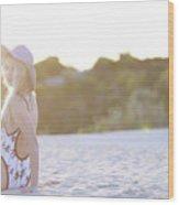 Sun Sand Surf Ondine Magazine Ireland Wood Print