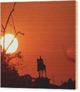Sunrise At Gettysburg Wood Print