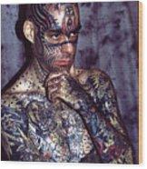 Tattoo Mike Wood Print