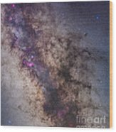 The Center Of The Milky Way Wood Print
