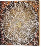 The Eternal Circle Wood Print