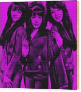 The Ronettes Collection Wood Print