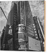 5 Times Square Ernst And Young Tower Headquarters New York City Usa Wood Print