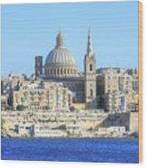 Valletta - Malta Wood Print