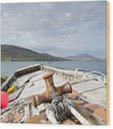 Vatersay Wood Print