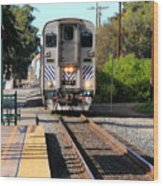 Ventura Train Station Wood Print