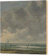 View Of Haarlem And The Haarlemmer Meer Wood Print