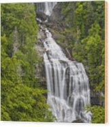 Whitewater Falls Wood Print
