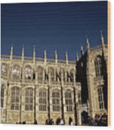 Windsor Castle England United Kingdom Uk Wood Print