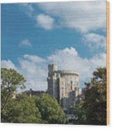 Windsor Castle Wood Print
