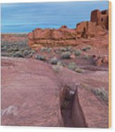 Wupatki National Monument Wood Print