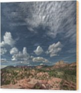 Zion Kolob Terrace Wood Print