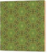 Arabesque 076 Wood Print