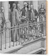 George Washington Wood Print by Granger