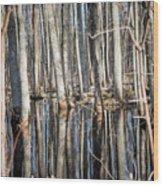 50 Shades Of Trees Wood Print