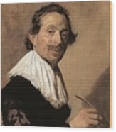 50chambr Frans Hals Wood Print