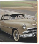 51 Chevrolet Deluxe Wood Print by Bill Dutting