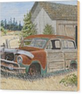 '51 Country Squire Wood Print