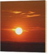 Sunsets Wood Print