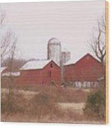519 Farm Wood Print