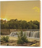 Grand Falls Waterfall Wood Print
