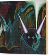 527   Little Alien Being A Wood Print