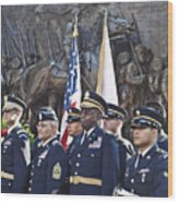 54th Regiment Bos2015_183 Wood Print