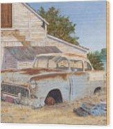 '55 210 Wood Print