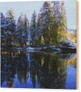 Nature Landscapes Prints Wood Print