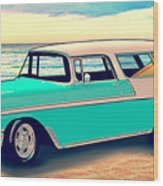 56 Nomad By The Sea In The Morning With Vivachas Wood Print
