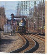 5664 Norfolk Southern Engine Wood Print