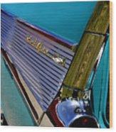 57 Chevy Bel Air Wood Print