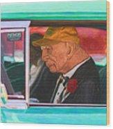 57 Chevy Man Wood Print
